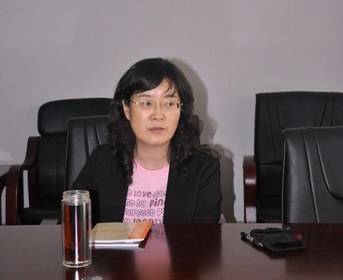 代丽_任佳院长在群众路线教育实践活动工会小组长座谈会上讲话 代丽/摄