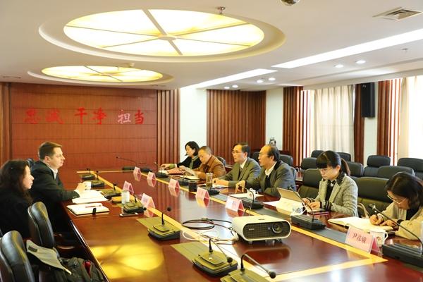 波兰学者梅德明教授到云南省社会科学院座谈交流