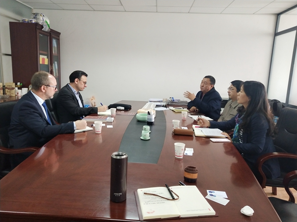 瑞士和平纽带基金会到缅甸研究所座谈交流
